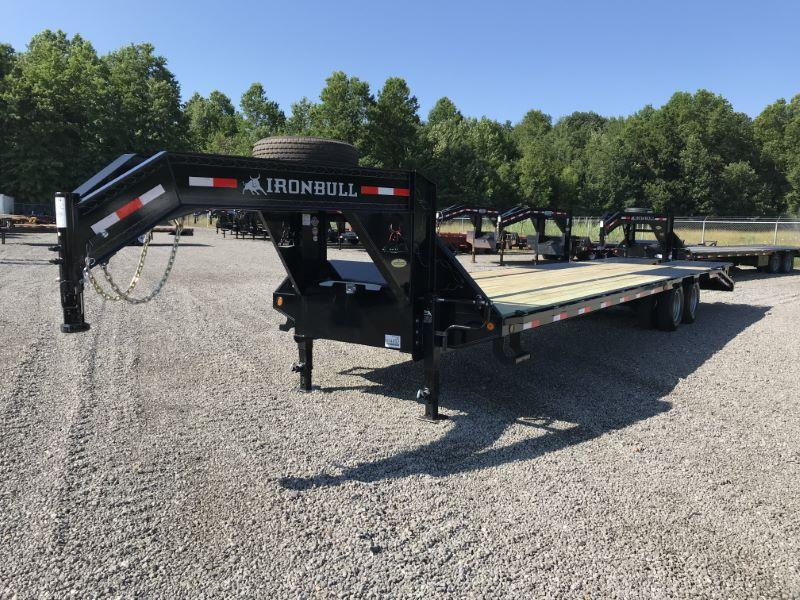 2020 32' NORSTAR IRON BULL GOOSENECK EQUIPMENT TRAILER