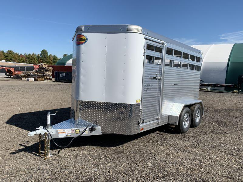 2020 7X14 SUNDOWNER  BUMPER PULL STOCK TRAILER