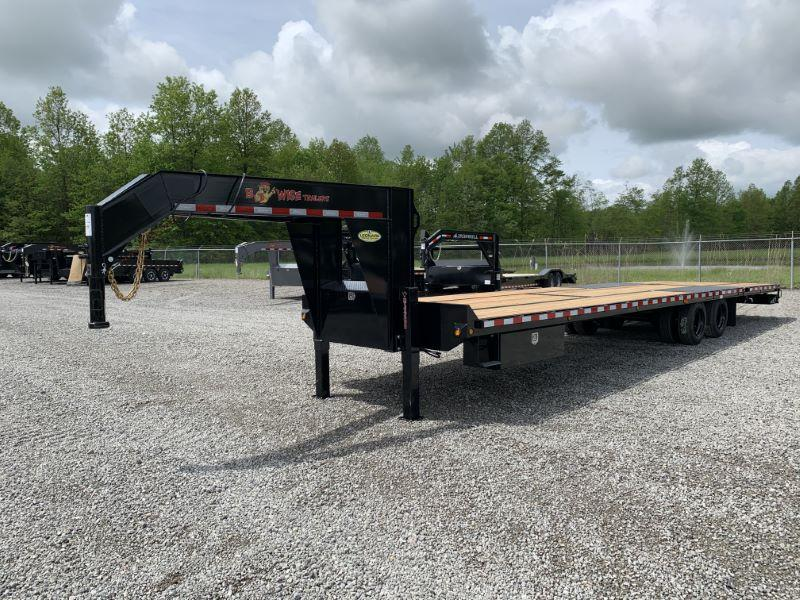 2020 34' BWISE GOOSENECK EQUIPMENT TRAILER