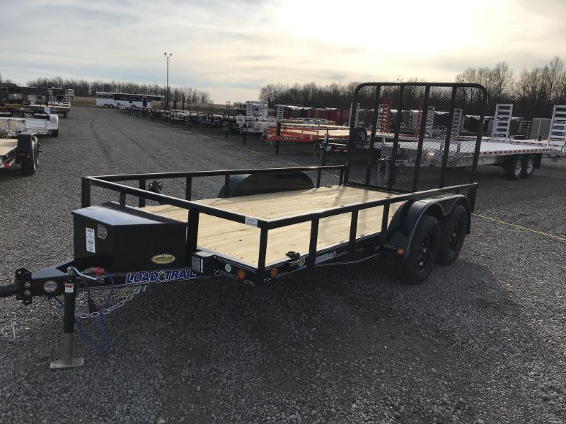 2021 14' LOAD TRAIL BUMPER PULL UTILITY TRAILER