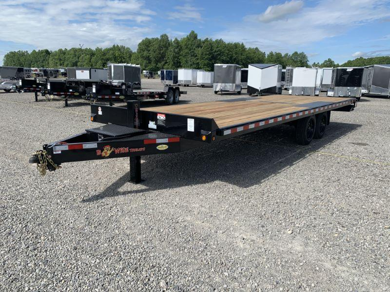 2020 24'  BWISE BUMPER PULL EQUIPMENT TRAILER