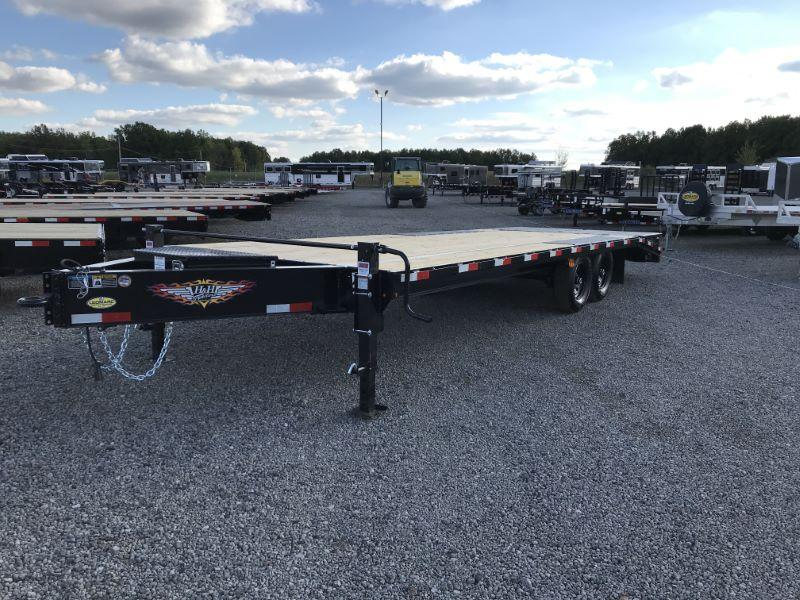 2021 25'  H&H TAG EQUIPMENT TRAILER