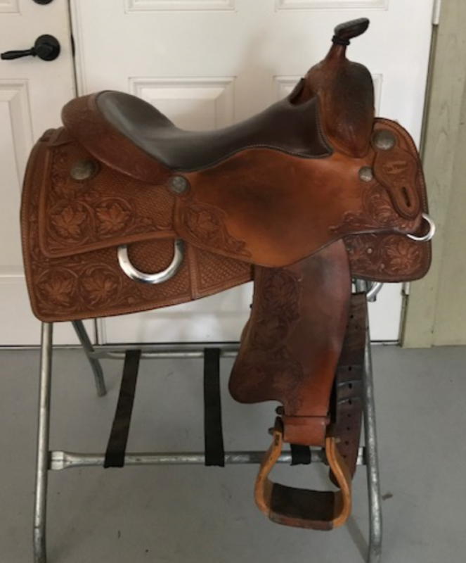 USED TIM PILAND CUSTOM SADDLE