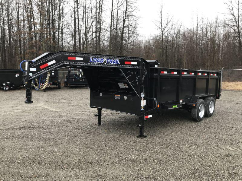 2020 7 X 16 LOAD TRAIL GOOSENECK DUMP TRAILER