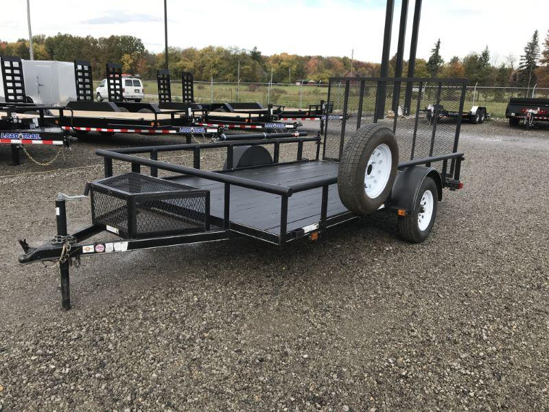 2018  12'  CARRY ON BUMPER PULL LANDSCAPE UTILITY TRAILER