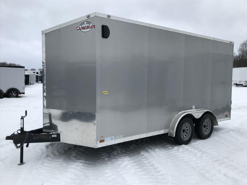 2020  16'  CARGO MATE BUMPER PULL ENCLOSED TRAILER