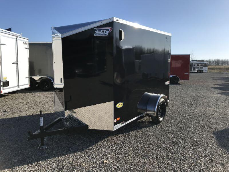 2021 6 X 10 BRAVO BUMPER PULL ENCLOSED TRAILER