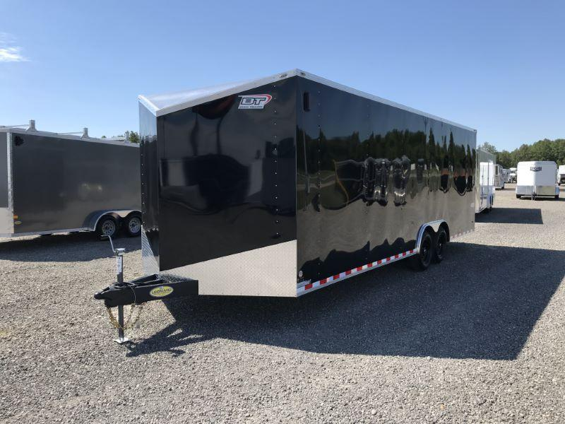 2021 8.5X24 BRAVO BUMPER PULL ENCLOSED CAR TRAILER