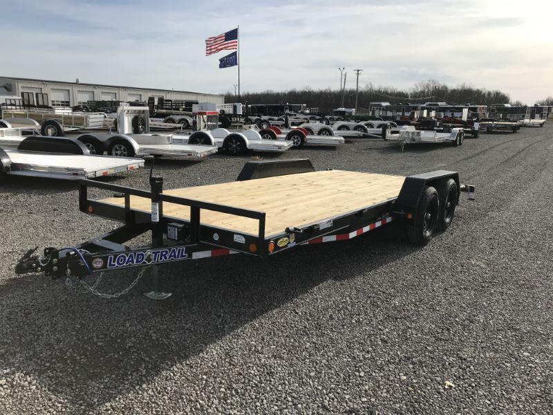2021 18' LOAD TRAIL BUMPER PULL EQUIPMENT TRAILER