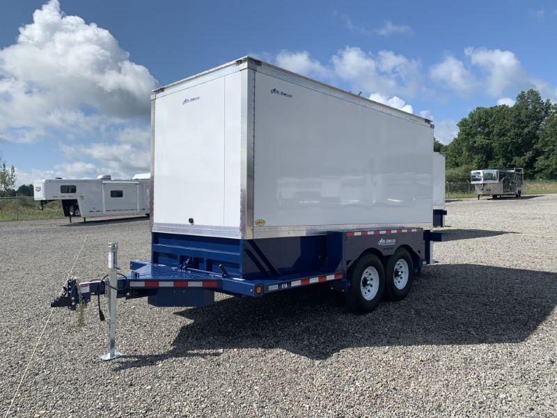 2021 16' AIR TOW BUMPER PULL ENCLOSED TRAILER