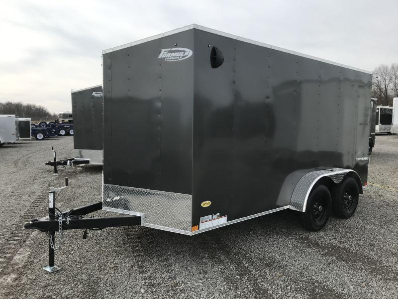 2021 14'  FORMULA BUMPER PULL ENCLOSED CARGO TRAILER