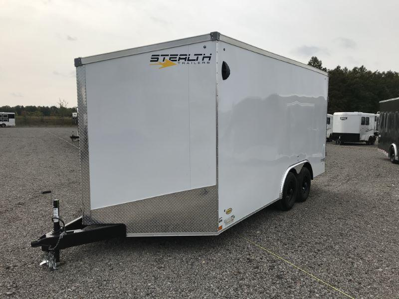 2021 8.5 X 16 STEALTH BUMPER PULL ENCLOSED TRAILER
