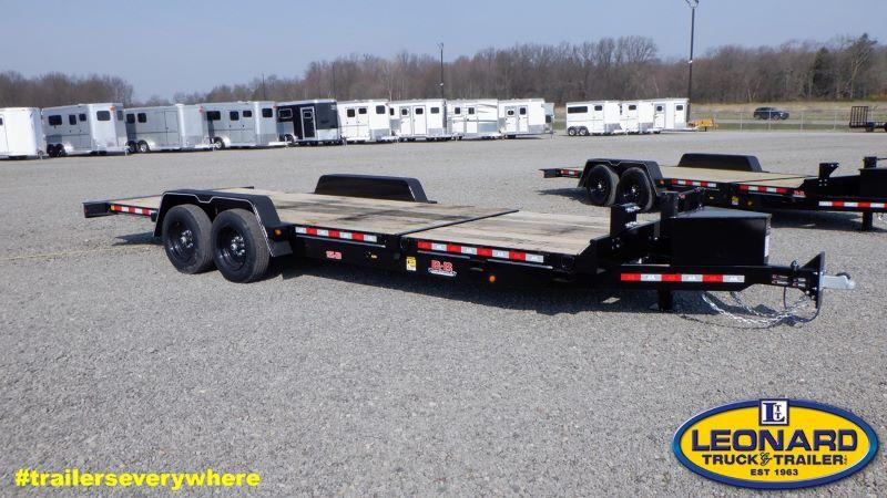 2021  24'  B-B TAG EQUIPMENT TRAILER