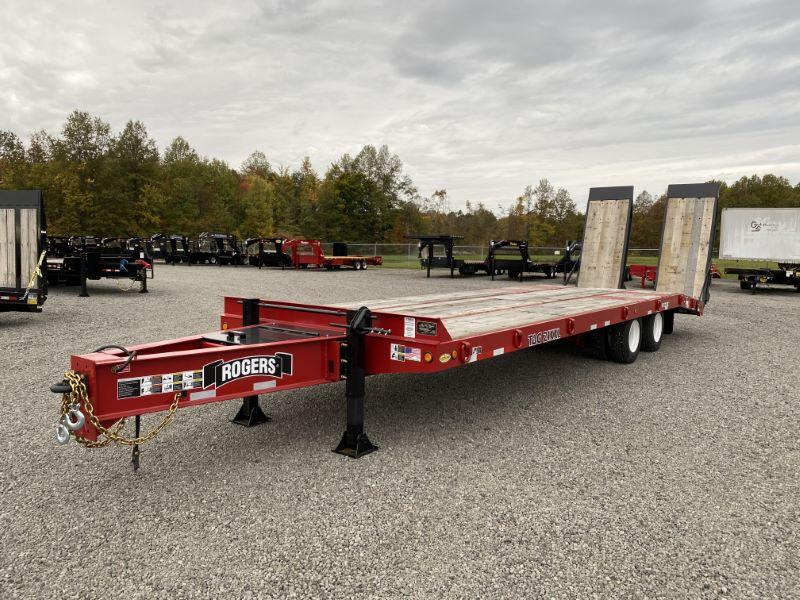 2020 30'  ROGERS TAG DECK OVER EQUIPMENT TRAILER