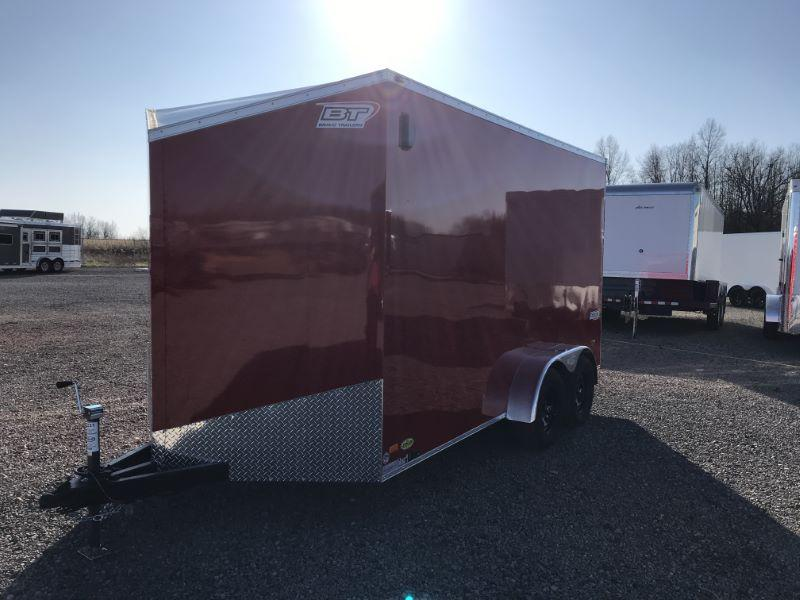 2021  7X14  BRAVO BUMPER PULL ENCLOSED TRAILER