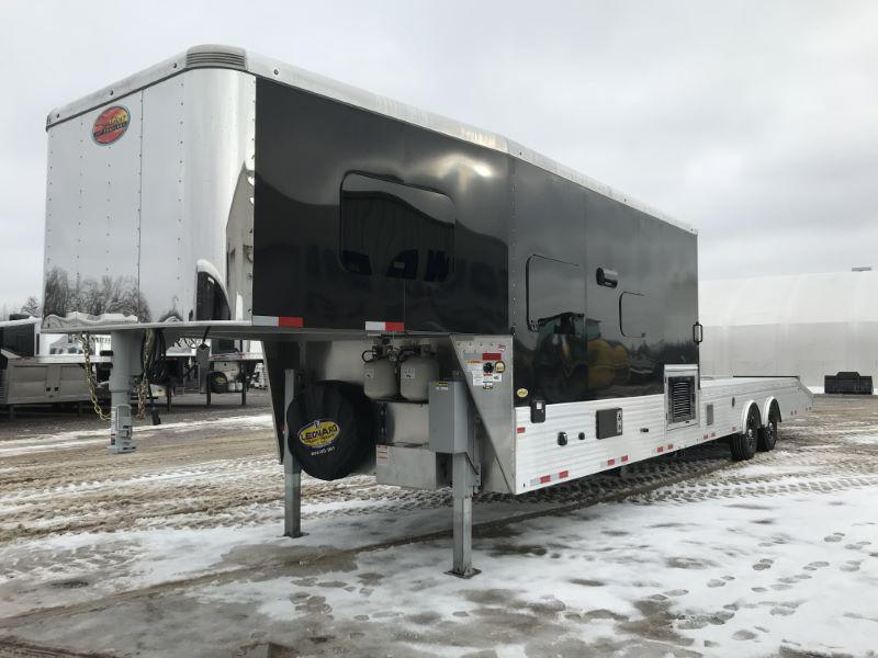 2021 SUNDOWNER 8.5X44 GOOSENECK LIVING QUARTERS TOY HAULER WITH 22' OPEN DECK