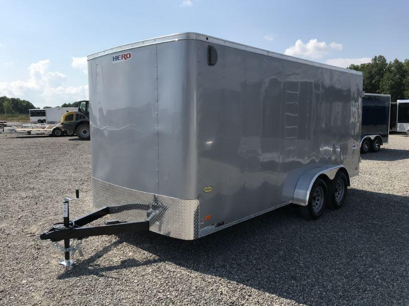 2021 7 x 16 BRAVO BUMPER PULL ENCLOSED CARGO TRAILER