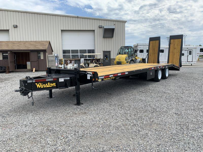 2021 8.5X30 WINSTON TAG HITCH EQUIPMENT TRAILER