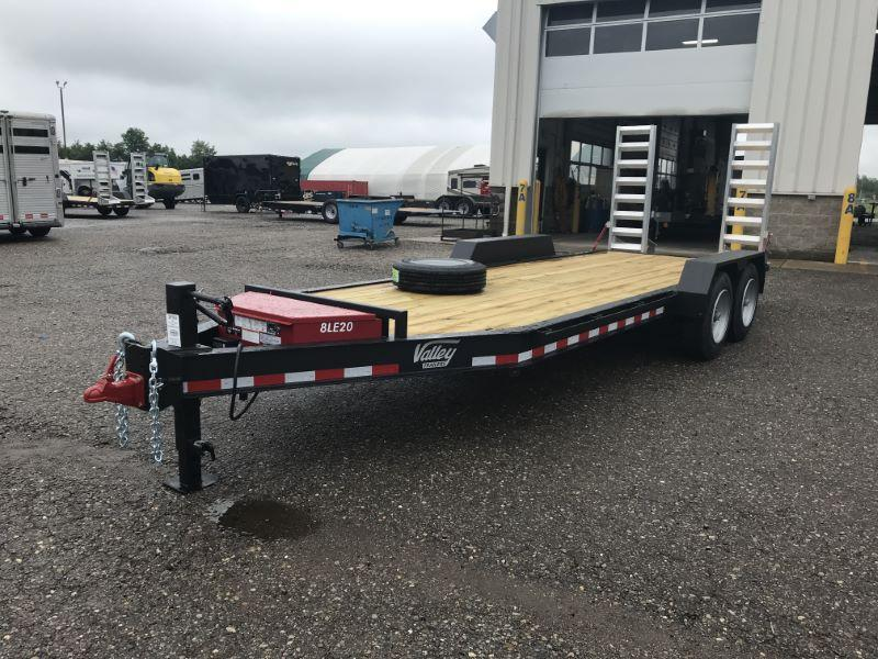 2020 7X12 VALLEY BUMPER PULL EQUIPMENT TRAILER
