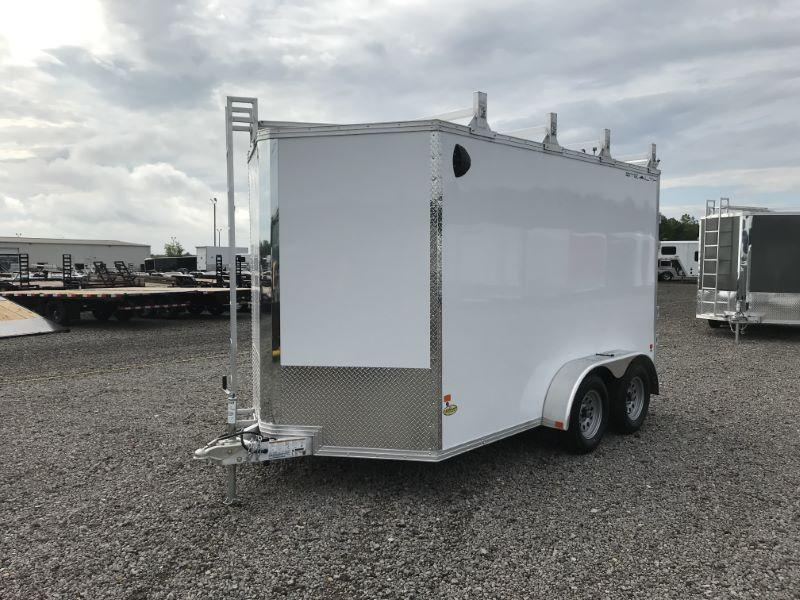 2019 7X12 STEALTH BUMPER PULL ENCLOSED CARGO TRAIELR
