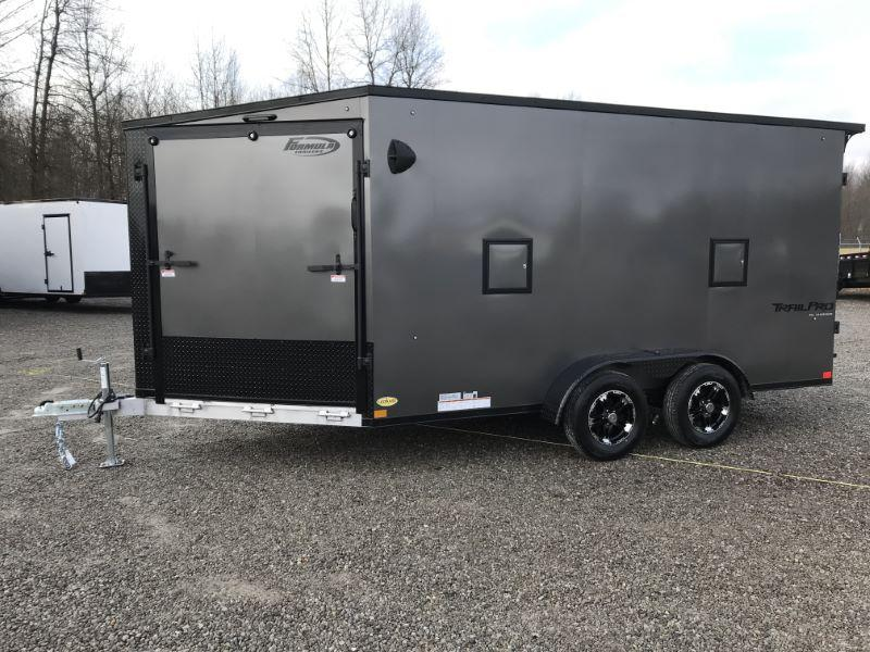 2021 19'  FORMULA BUMPER PULL ENCLOSED SNOWMOBILE TRAILER