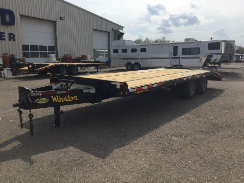 2021  8.5X25  WINSTON DECK OVER TAG EQUIPMENT TRAILER