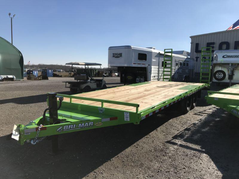 2021 20'  BRI-MAR TAG DECK OVER  EQUIPMENT TRAILER