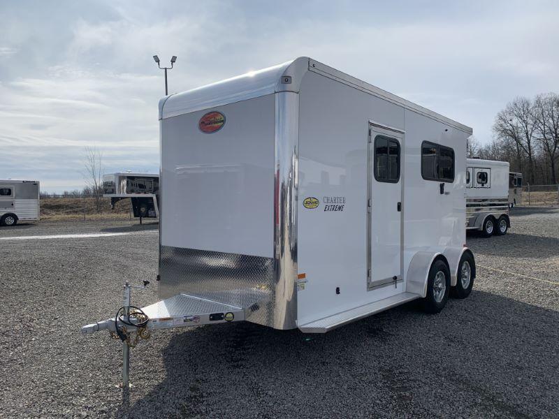 2020 2 HORSE SUNDOWNER BUMPER PULL W/DRESS HORSE TRAILER