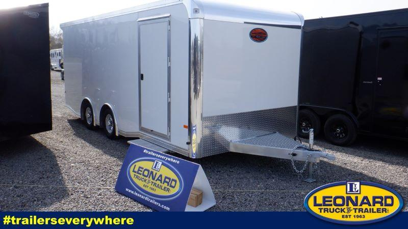 2021  20'  SUNDOWNER BUMPER PULL ENCLOSED RACE CAR TRAILER