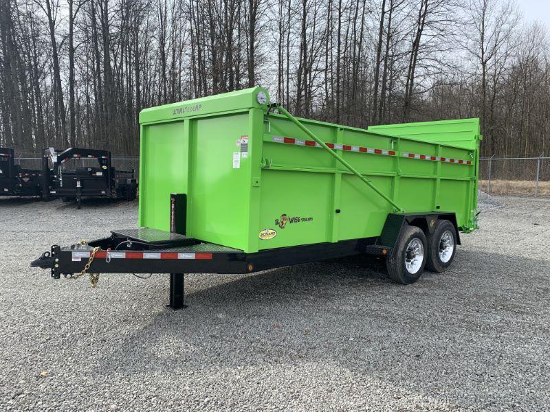 2021 16'  BWISE TAG DUMP LOW PROFILE TRAILER
