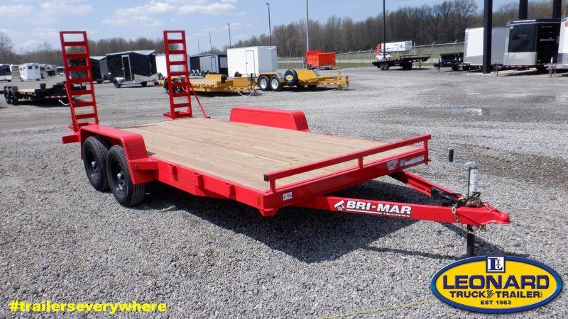 2021 16'  BRI-MAR BUMPER PULL EQUIPMENT TRAIELR