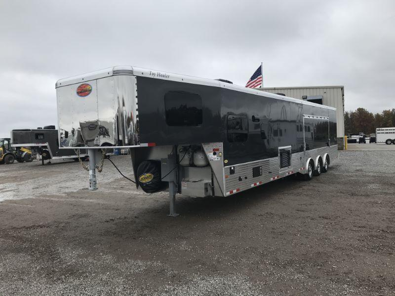 2021 SUNDOWNER 8.5X44 GOOSENECK LIVING QUARTERS TOY HAULER WITH 22' GARAGE