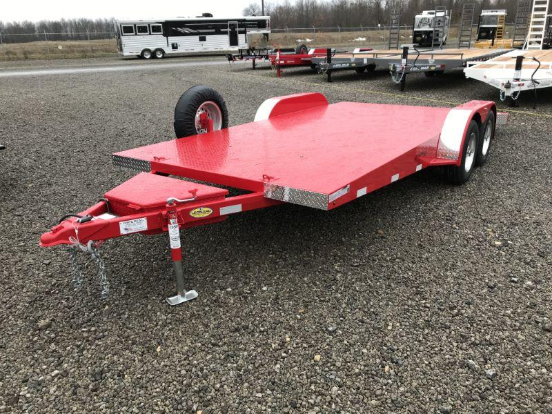 2021 19'  IMPERIAL BUMPER PULL EQUIPMENT TRAILER