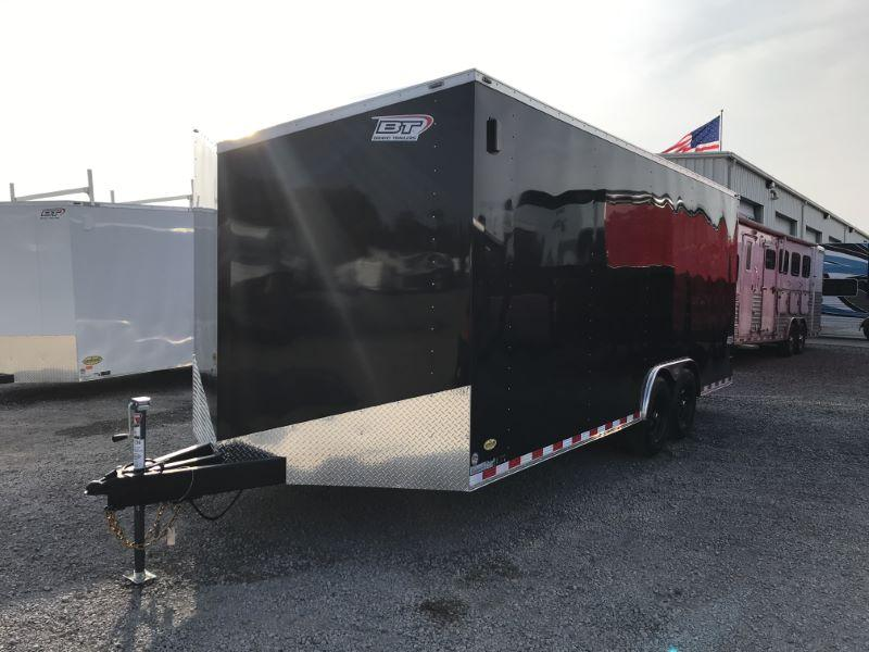 2021 8.5X20 BRAVO BUMPER PULL ENCLOSED CAR TRAILER