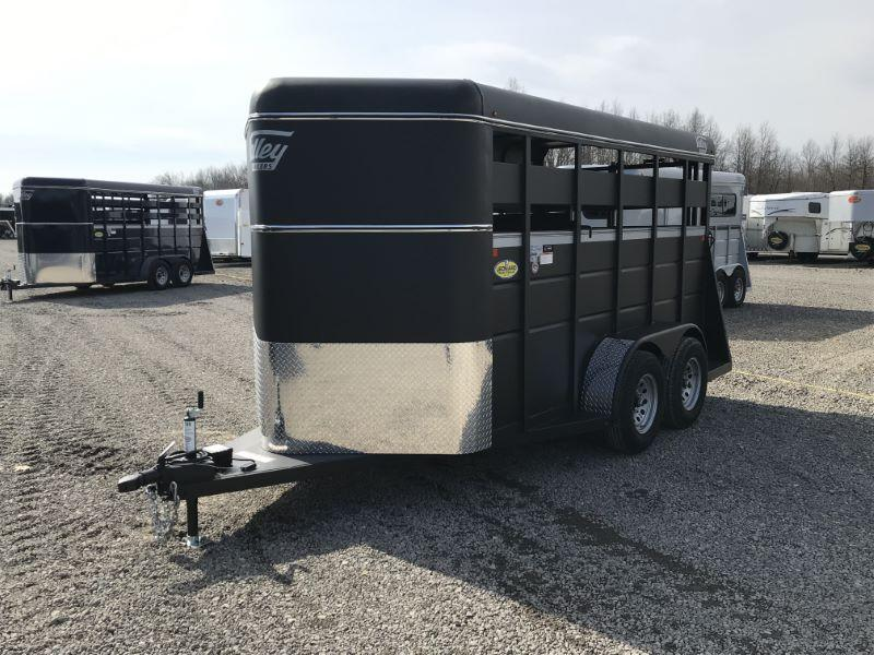 2020 6 X 14 VALLEY BUMPER PULL STOCK TRAILER