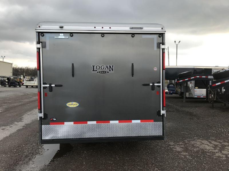 2021 LOGAN COACH 8.5'X40' GOOSENECK LIVING QUARTERS TOY HAULER WITH 20' GARAGE