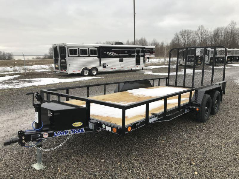 2021 18' LOAD TRAIL BUMPER PULL UTILITY TRAILER
