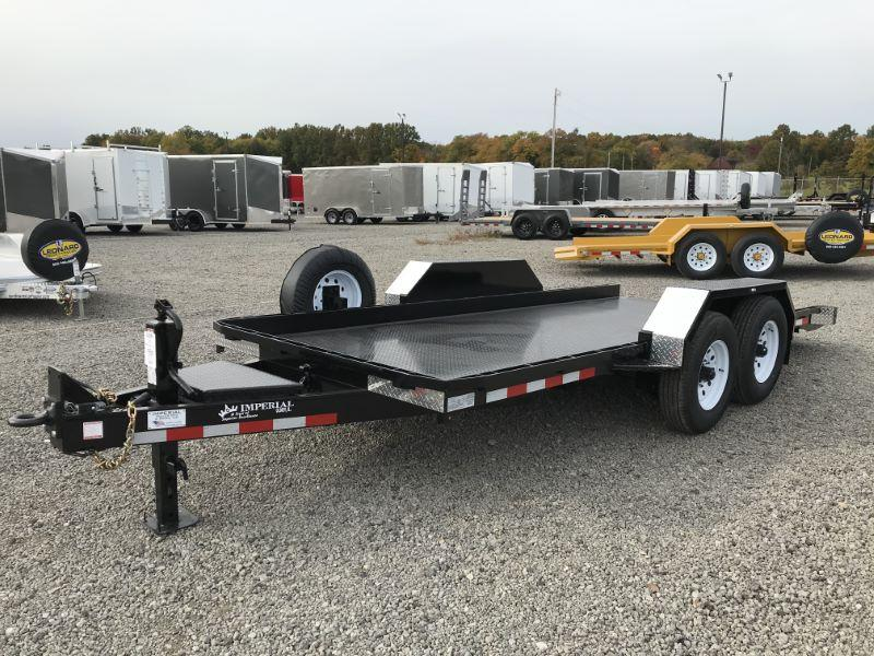 2021 16'  IMPERIAL BUMPER PULL EQUIPMENT TRAILER