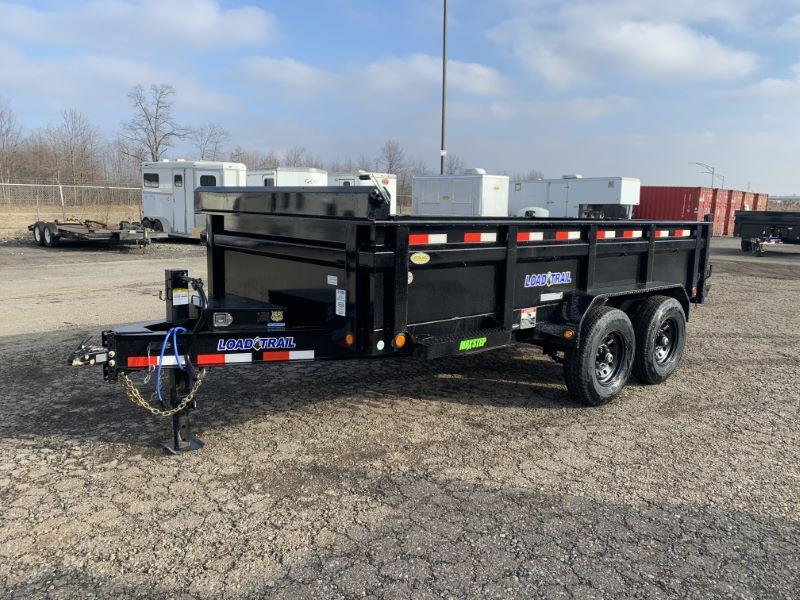 2020 7 X 14 LOAD TRAIL BUMPER PULL DUMP TRAILER