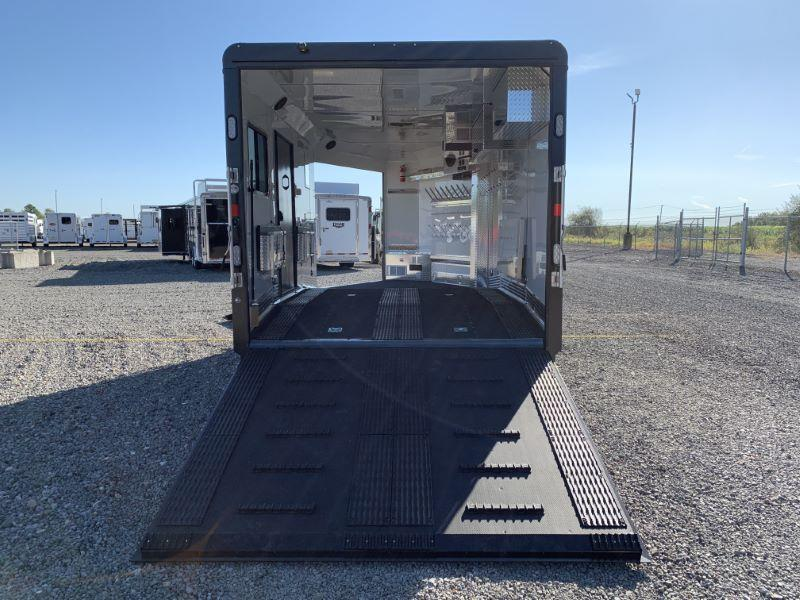 2021 8.5 X 20 TRAILS WEST BUMPER PULL SNOWMOBILE TRAILER