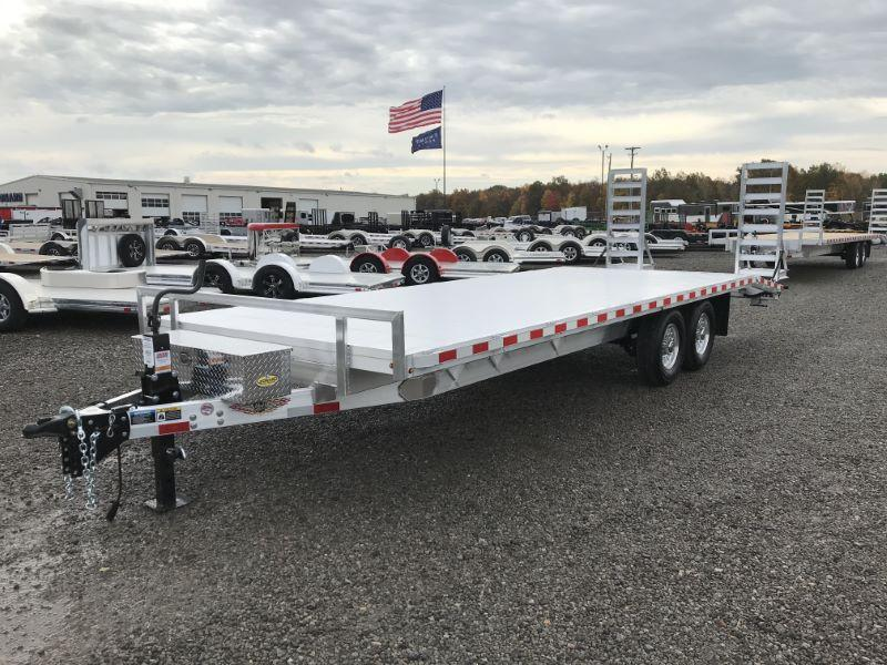 2021 8.5 X 26 H&H DECK OVER TAG EQUIPMENT TRAILER