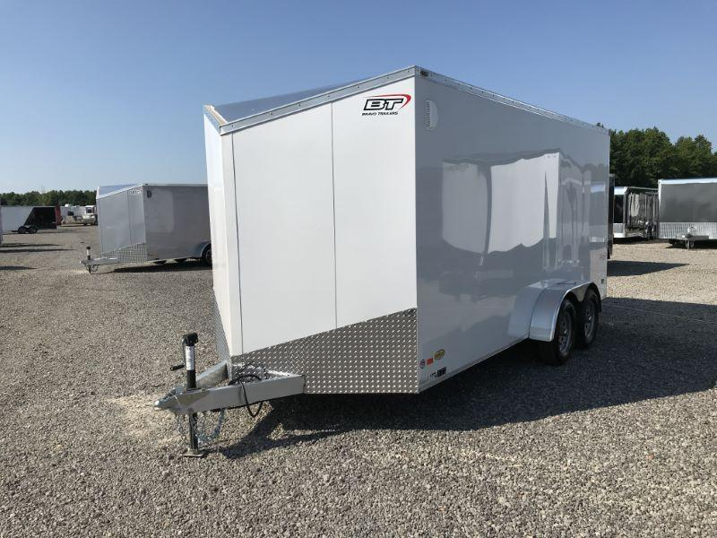 2020 7X16 BRAVO BUMPER PULL ENCLOSED CARGO TRAILER
