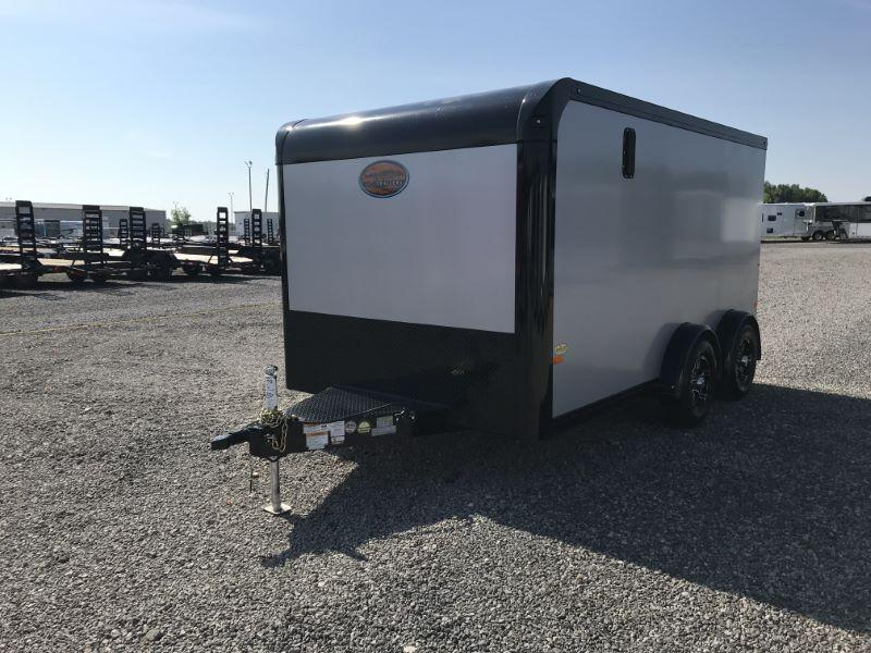 2020 7.5X13 BUMPER PULL ENCLOSED MOTORCYCLE TRAILER