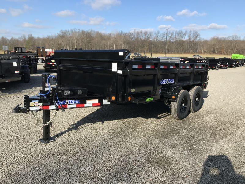 2021 14'  LOAD TRAIL BUMPER PULL DUMP TRAILER
