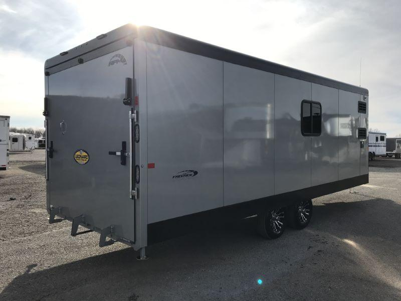 2021  28'  TRAILS WEST ENCLOSED BUMPER PULL TOY HAULER TRAILER