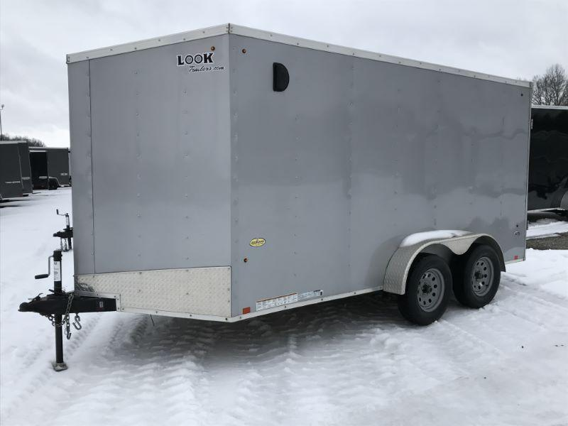 2019  7X14   LOOK BUMPER PULL ENCLOSED CARGO TRAILER