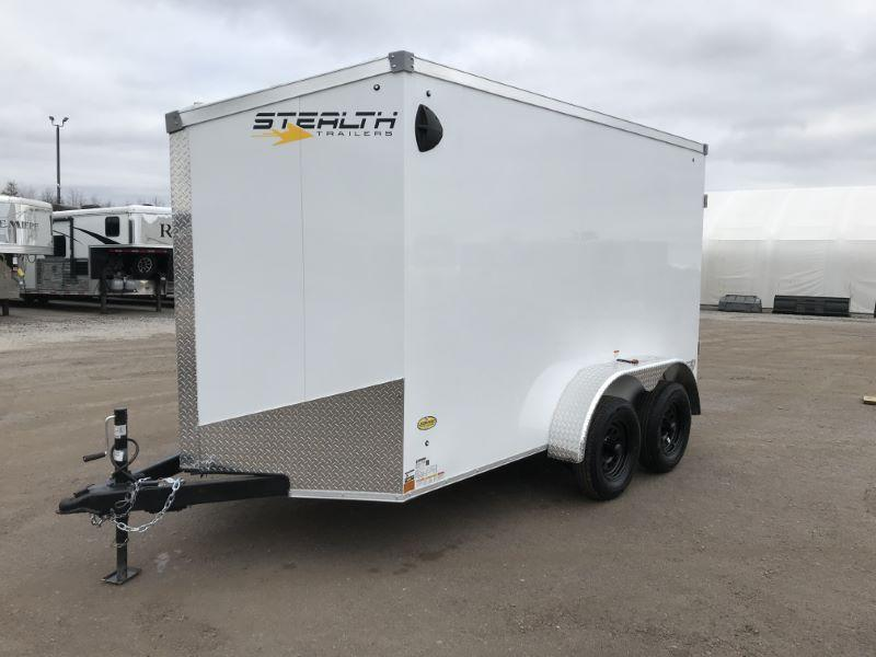 2021  6 X 12 STEALTH BUMPER PULL ENCLOSED CARGO TRAILER