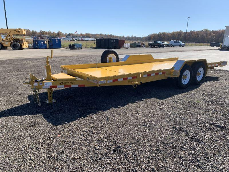 2020 7X22 IMPERIAL BUMPER PULL EQUIPMENT TRAILER