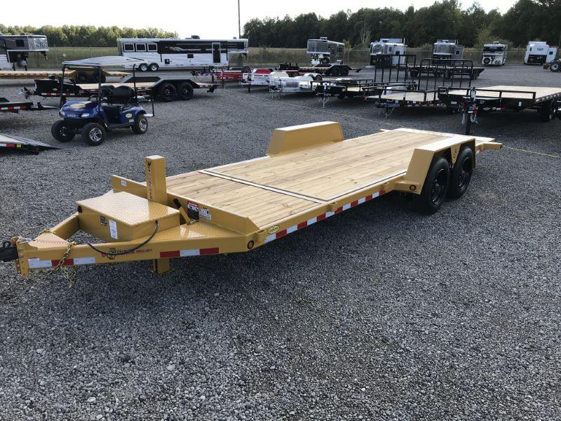2021 22'  BWISE BUMPER PULL EQUIPMENT TRAILER