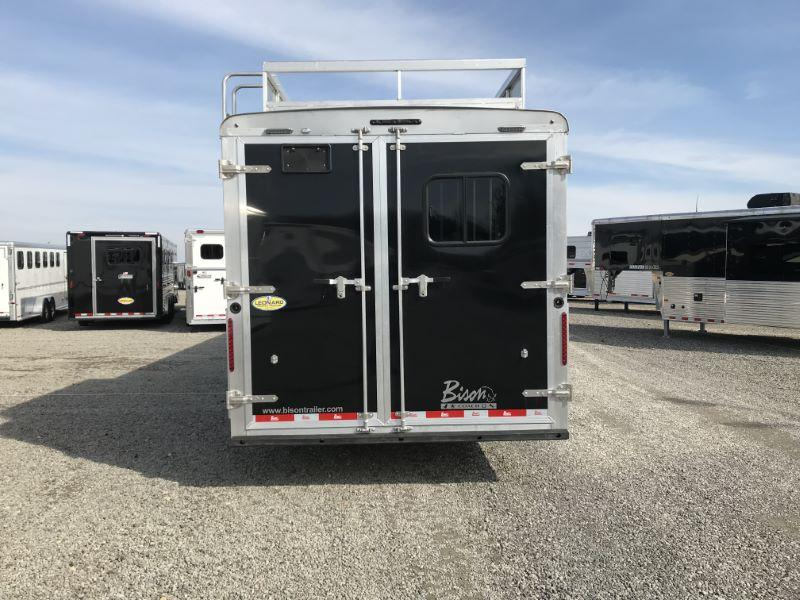 2020 3 HORSE BISON COACH GOOSENECK W/LIVING QUATERS HORSE TRAILER